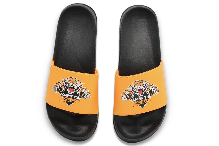 NRL Adults Slides - Wests Tigers Footwear Team Uggs