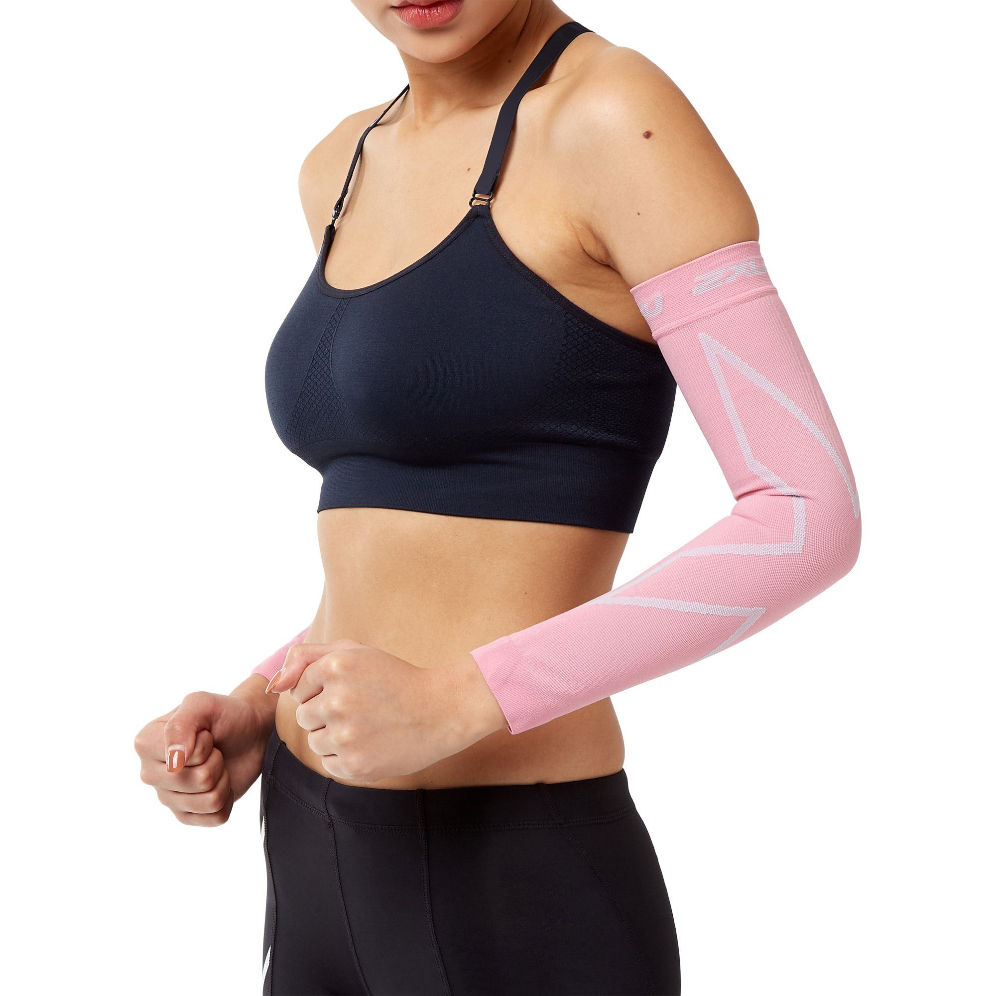 2XU Compression Arm Sleeves - Pink Accessories 2XU  (2019203088443)