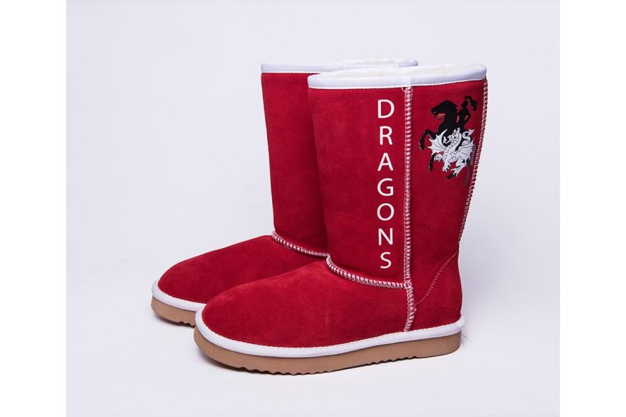 NRL Adult Ugg Boots - St George Illawarra Dragons Footwear Team Uggs