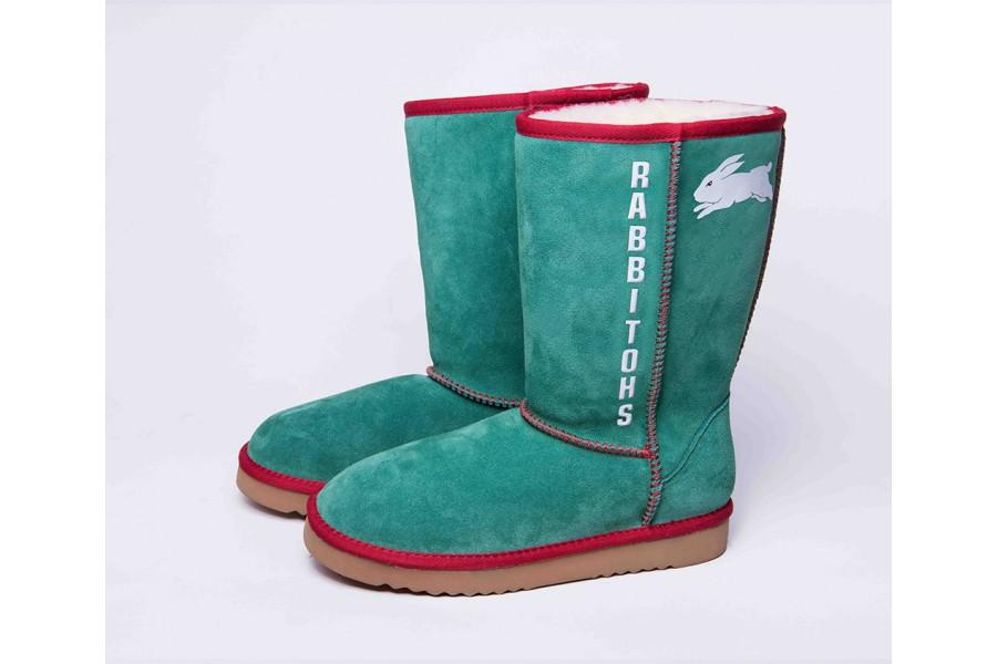NRL Adult Ugg Boots - South Sydney Rabbitohs Footwear Team Uggs