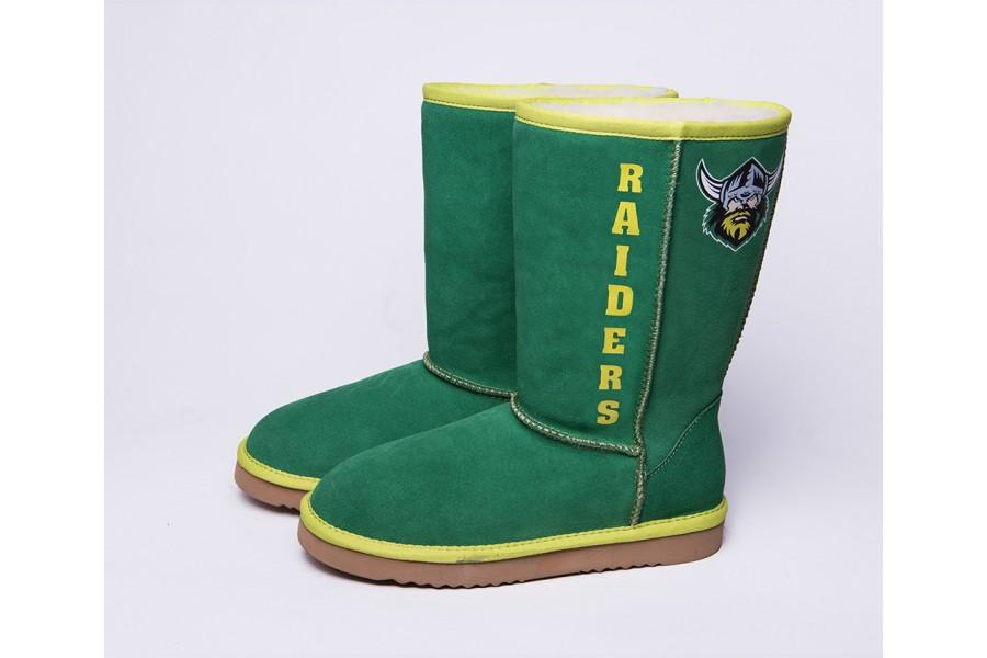 NRL Adult Ugg Boots - Canberra Raiders Footwear Team Uggs