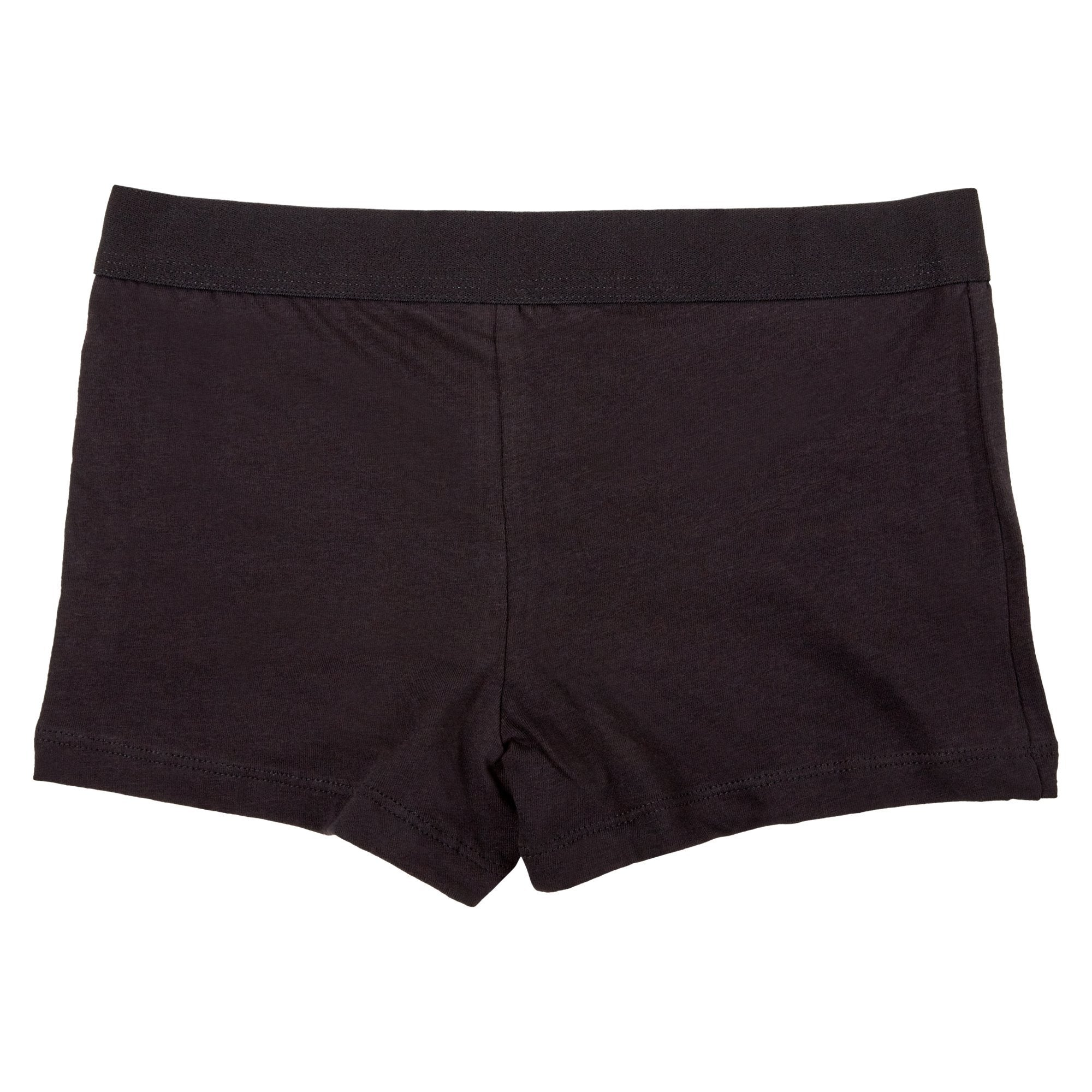 Rio Girl's 2 Pack Netball Knickers Shortie - Black Apparel Rio  (2019304800315)