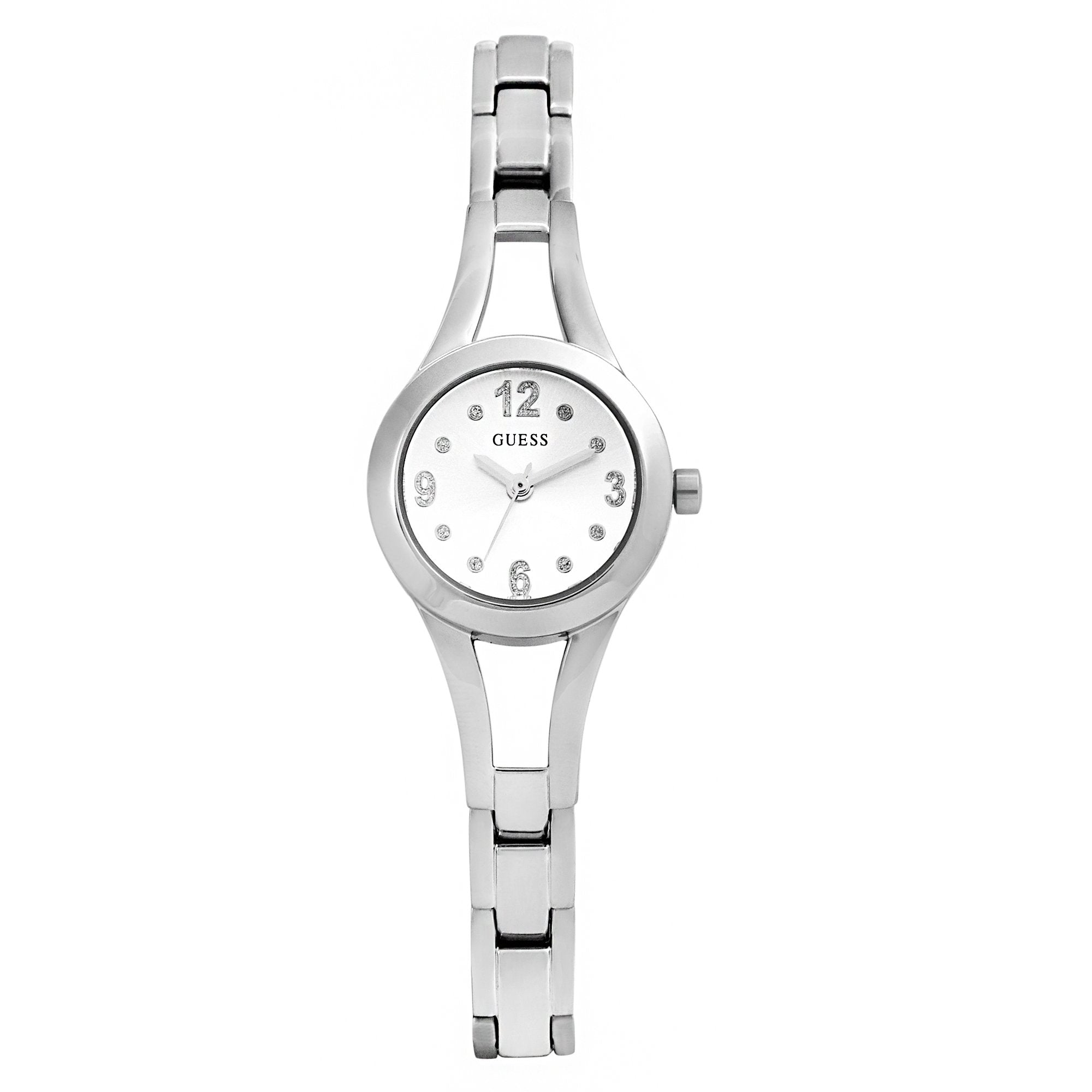 Guess Evie Silver Silver Bracelet Watches Isbister & Co Wholesale