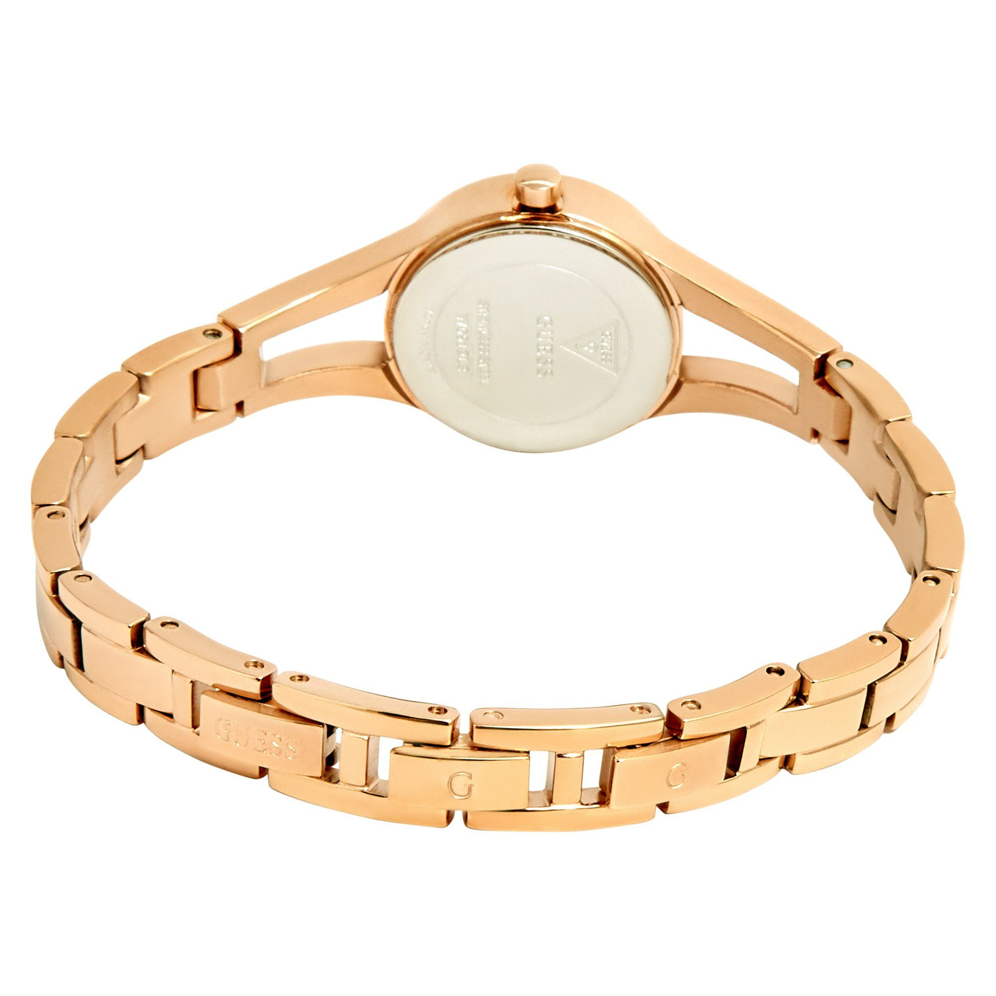 Guess Evie Rose Gold Bracelet Watch Watches Isbister & Co Wholesale