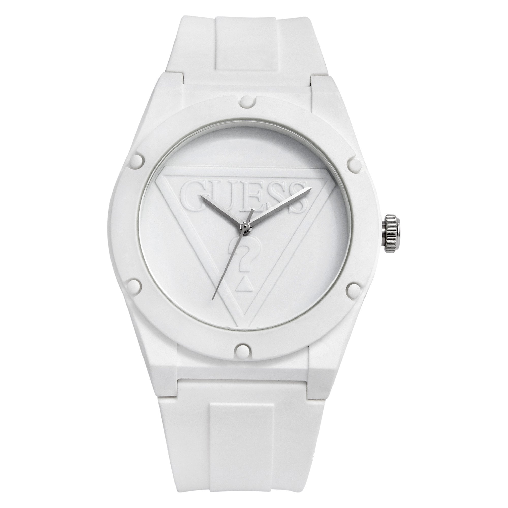 Guess Retro Pop Wht Wht Silc Watches Isbister & Co Wholesale