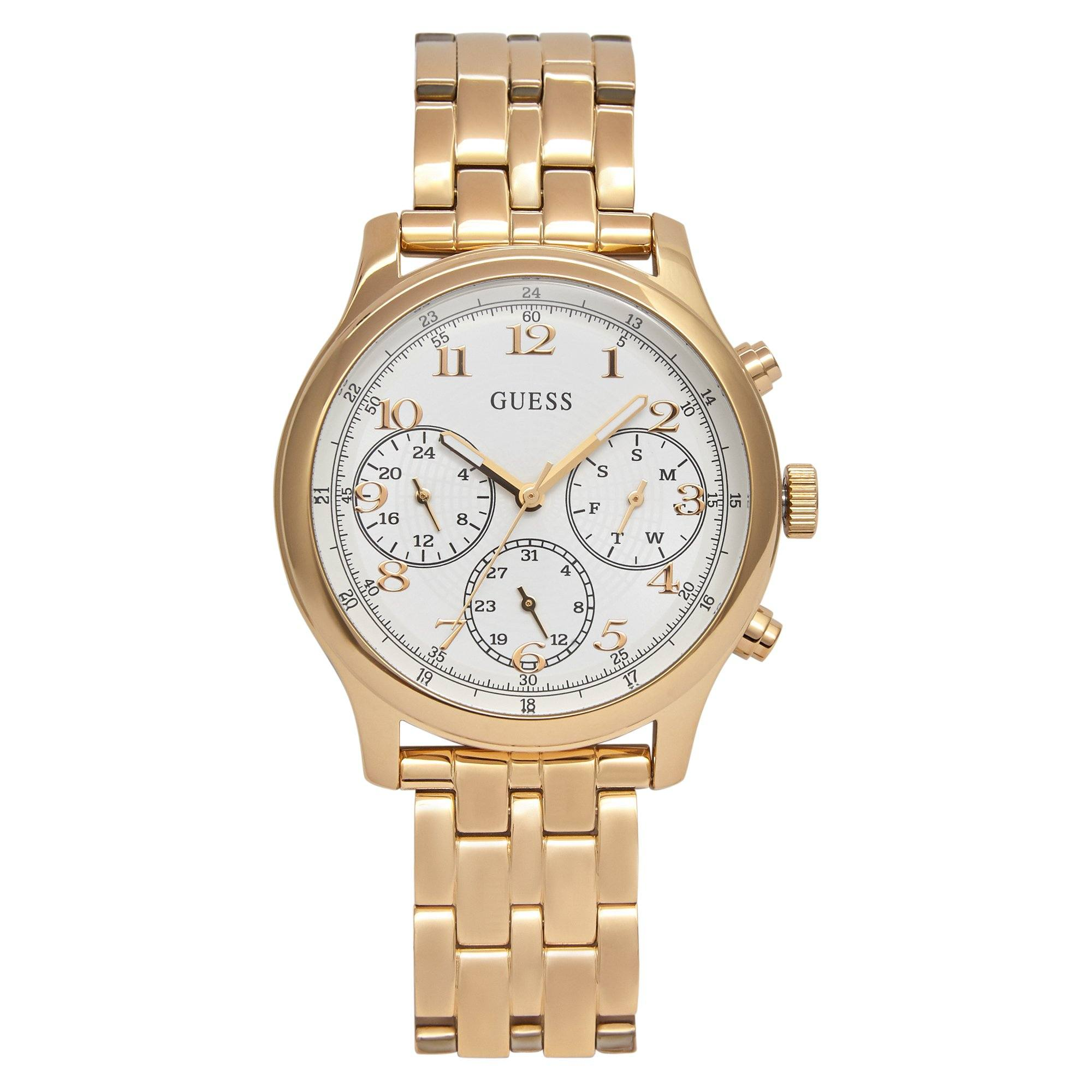 Guess Taylor Gld Gld Brct Watches Isbister & Co Wholesale