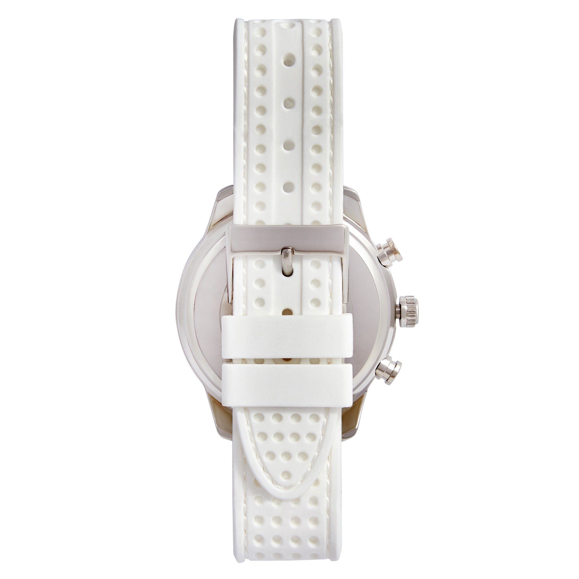 Guess Marina Slv Wht Silc Watches Isbister & Co Wholesale