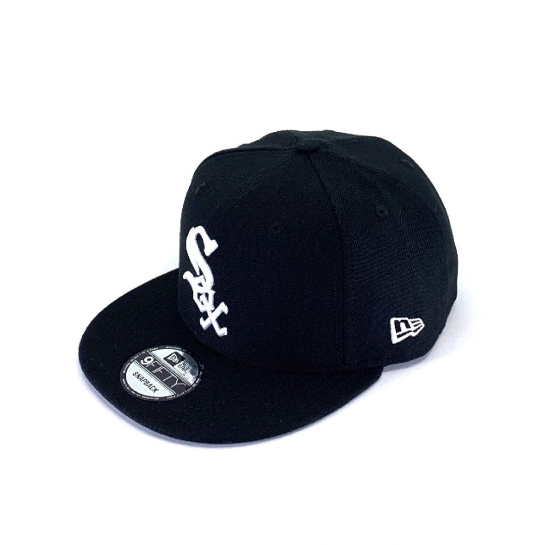 Chicago White Sox Black 9FIFTY Snapback Hats New Era