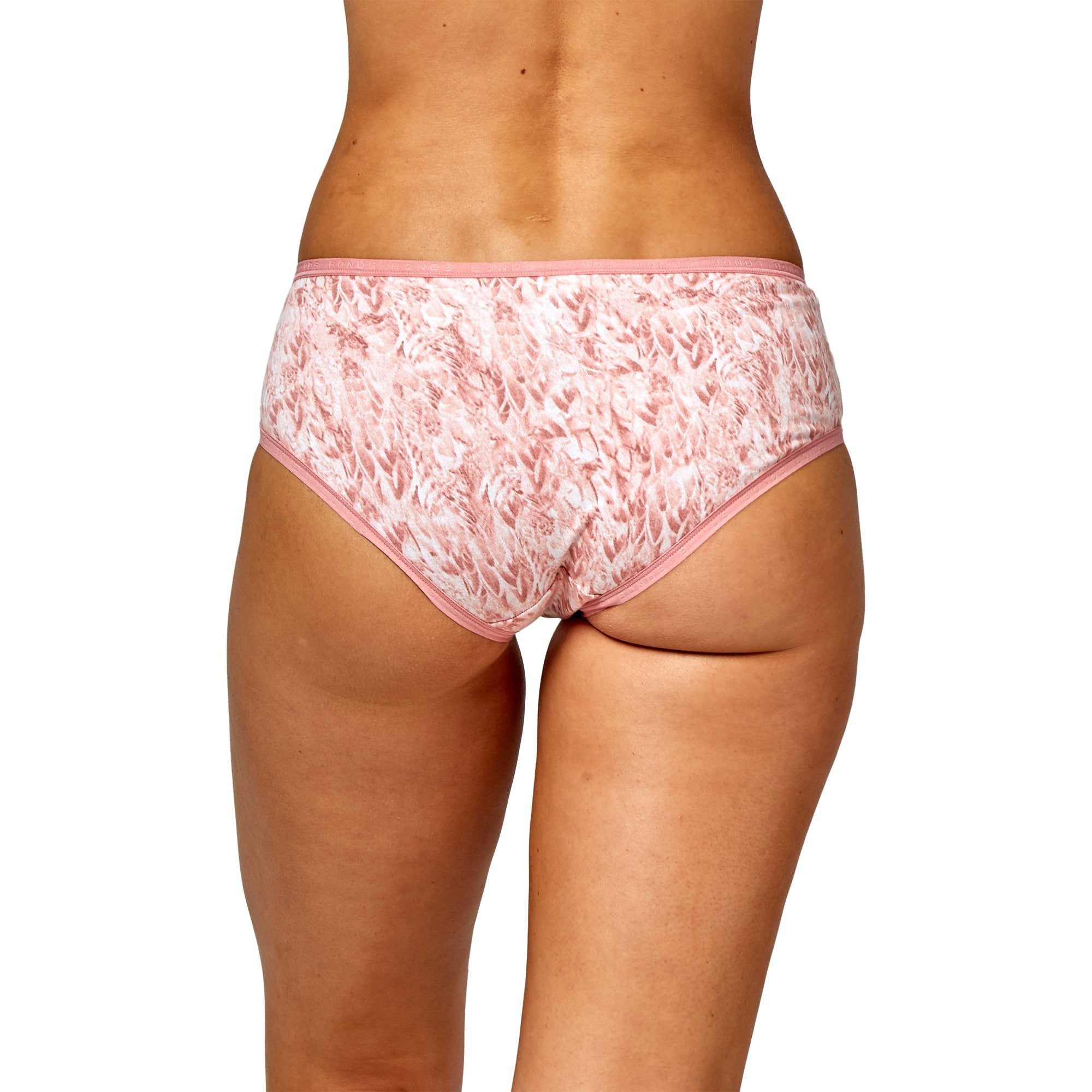 Bonds Women'S Underwear Comfytails Ydg Midi - Print 6Ea Women's Underwear Bonds