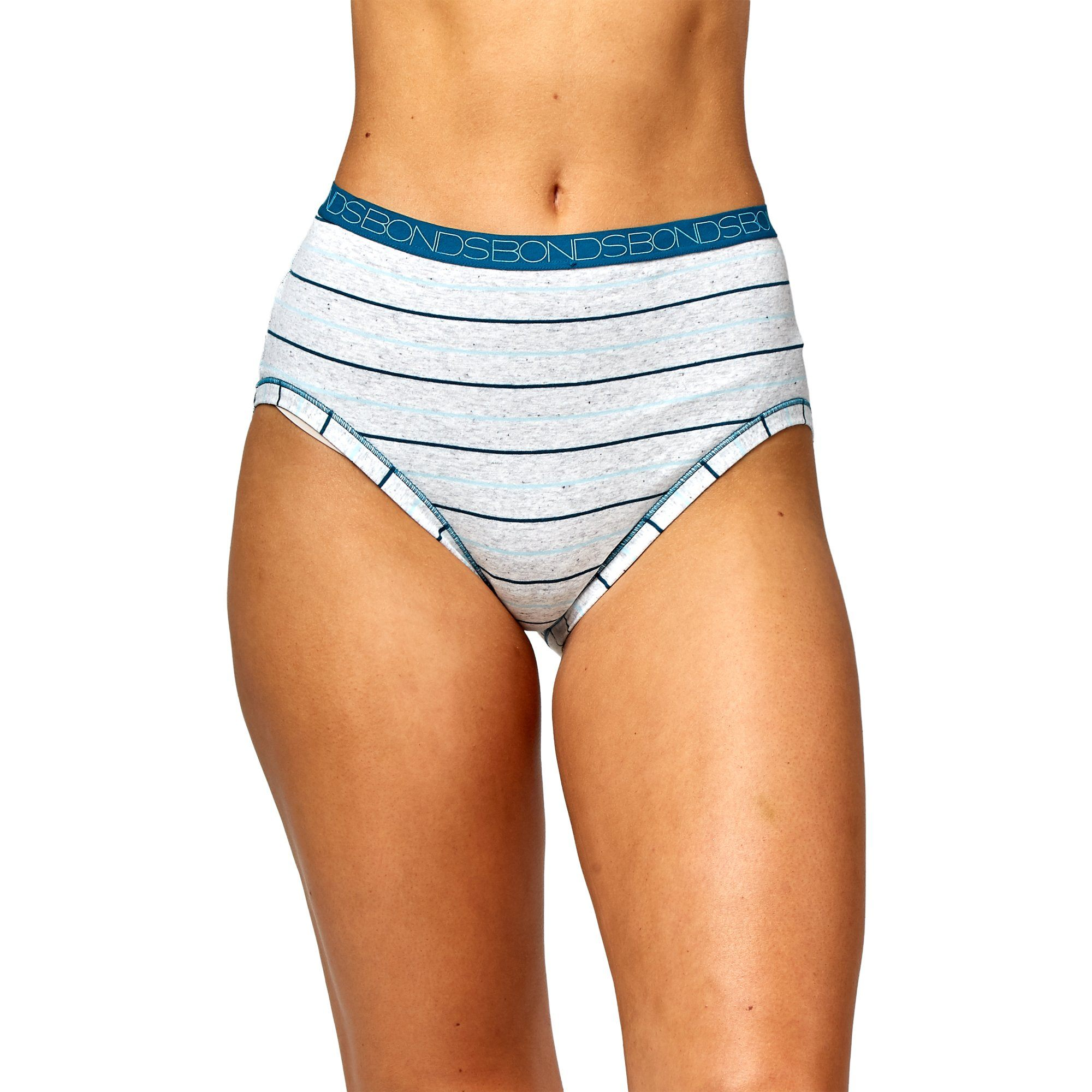 Bonds Women'S Underwear Cottontails Yds F/B - Stripe 15 Women's Underwear Bonds