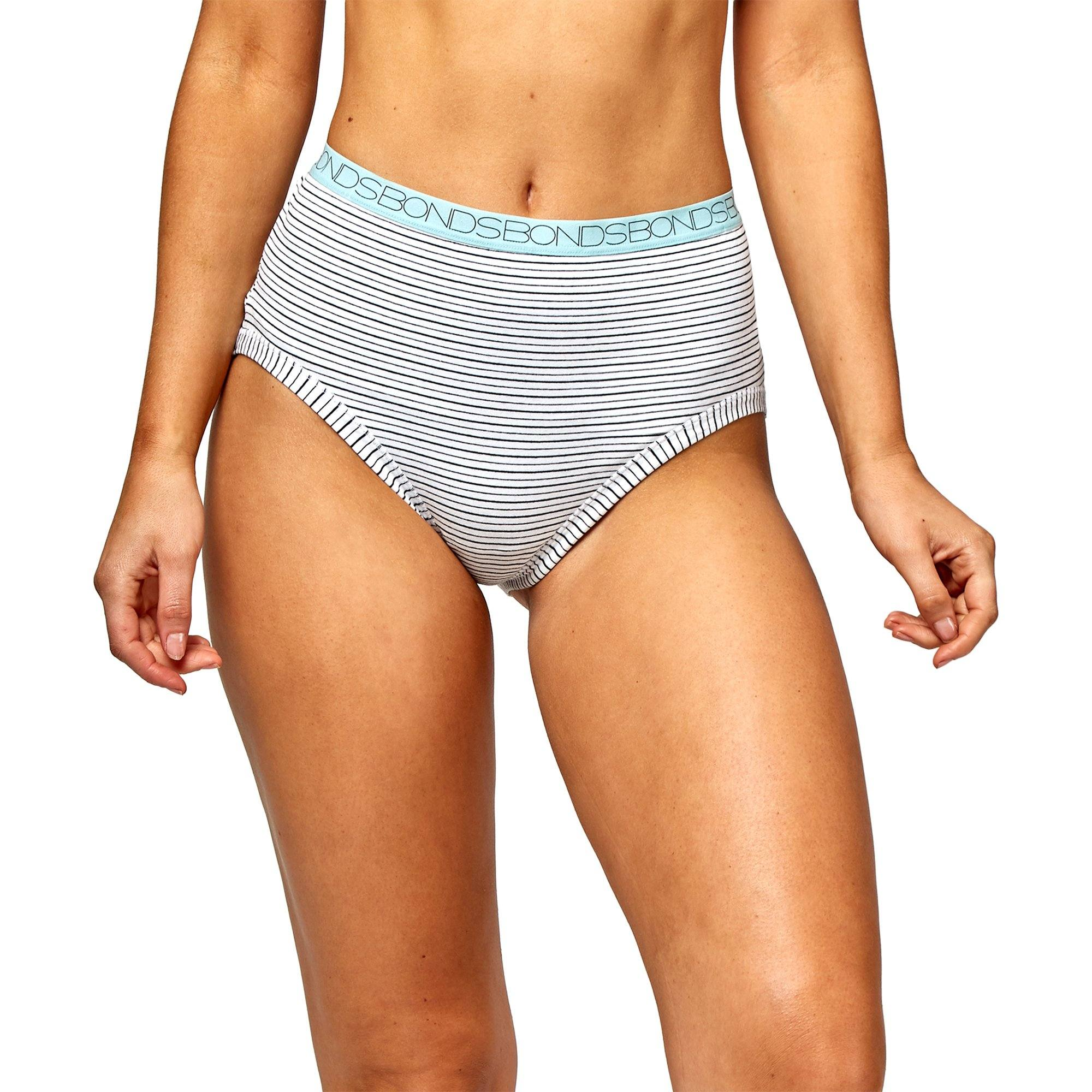 Bonds Women'S Underwear Cottontails Yds F/B - Stripe 30 Women's Underwear Bonds