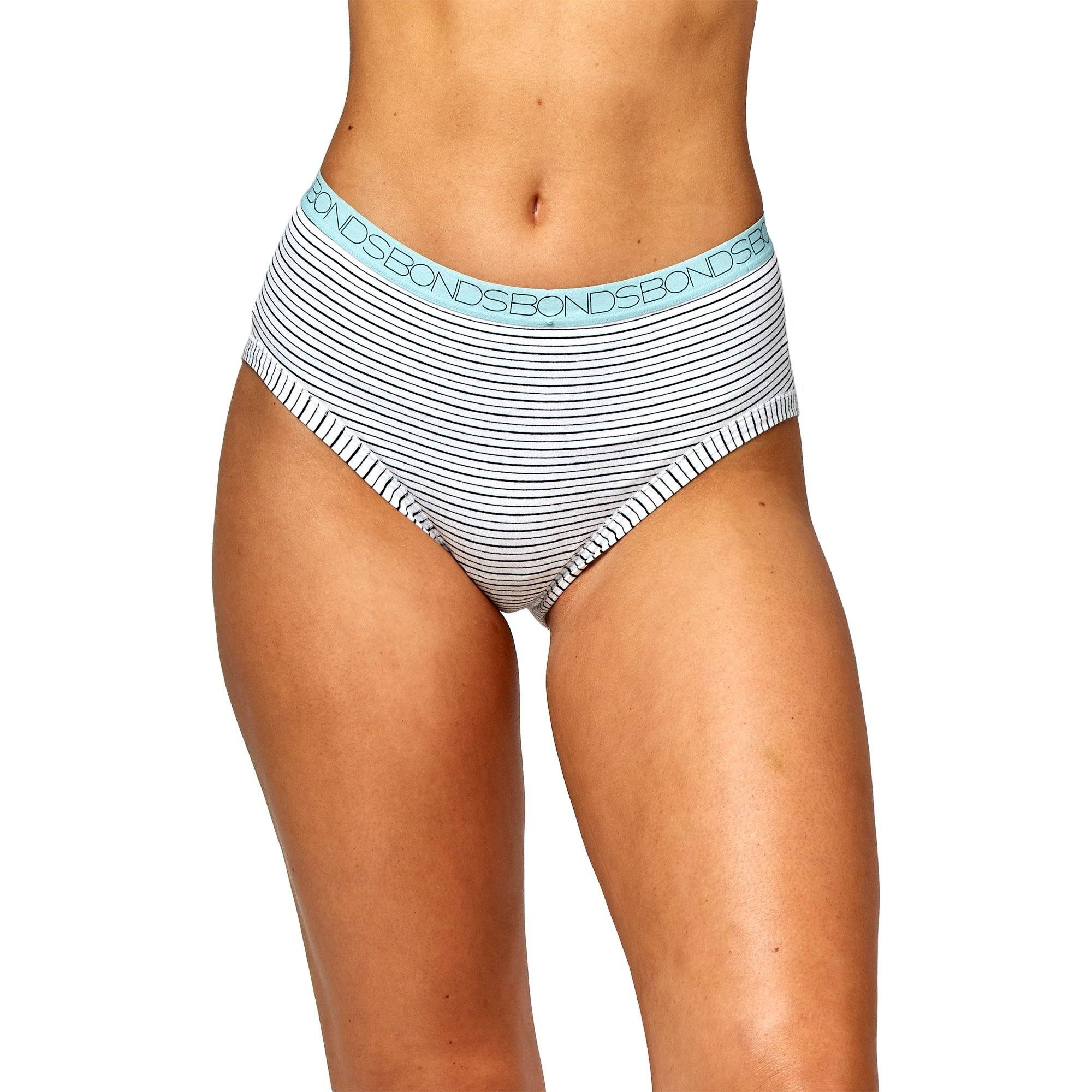 Bonds Women'S Underwear Cottontails Yds Midi - Stripe 30 Women's Underwear Bonds