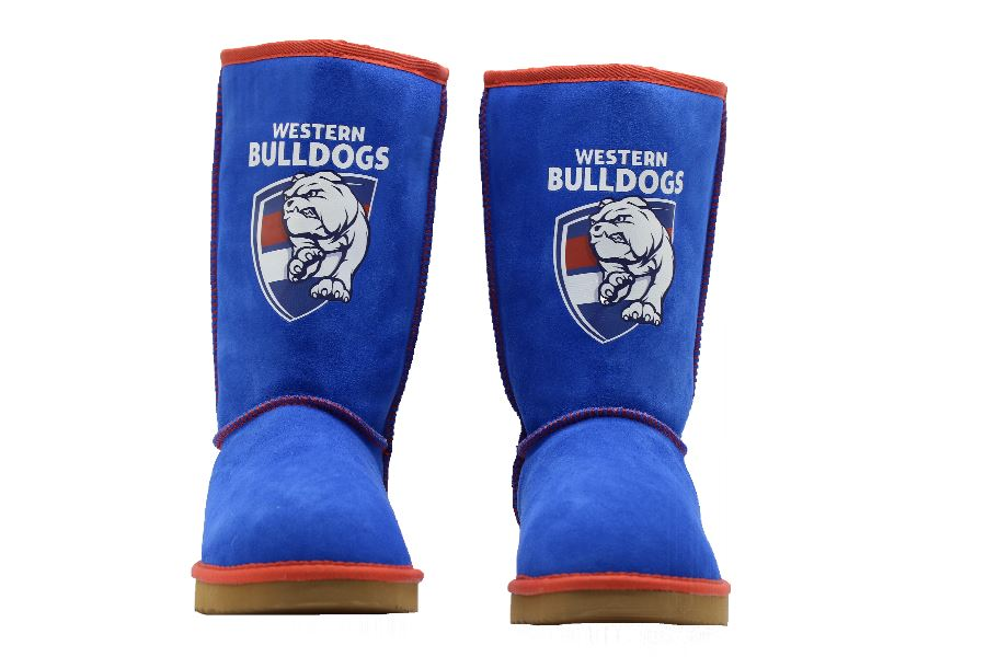 AFL Adult Ugg Boots - Western Bulldogs Footwear Team Uggs