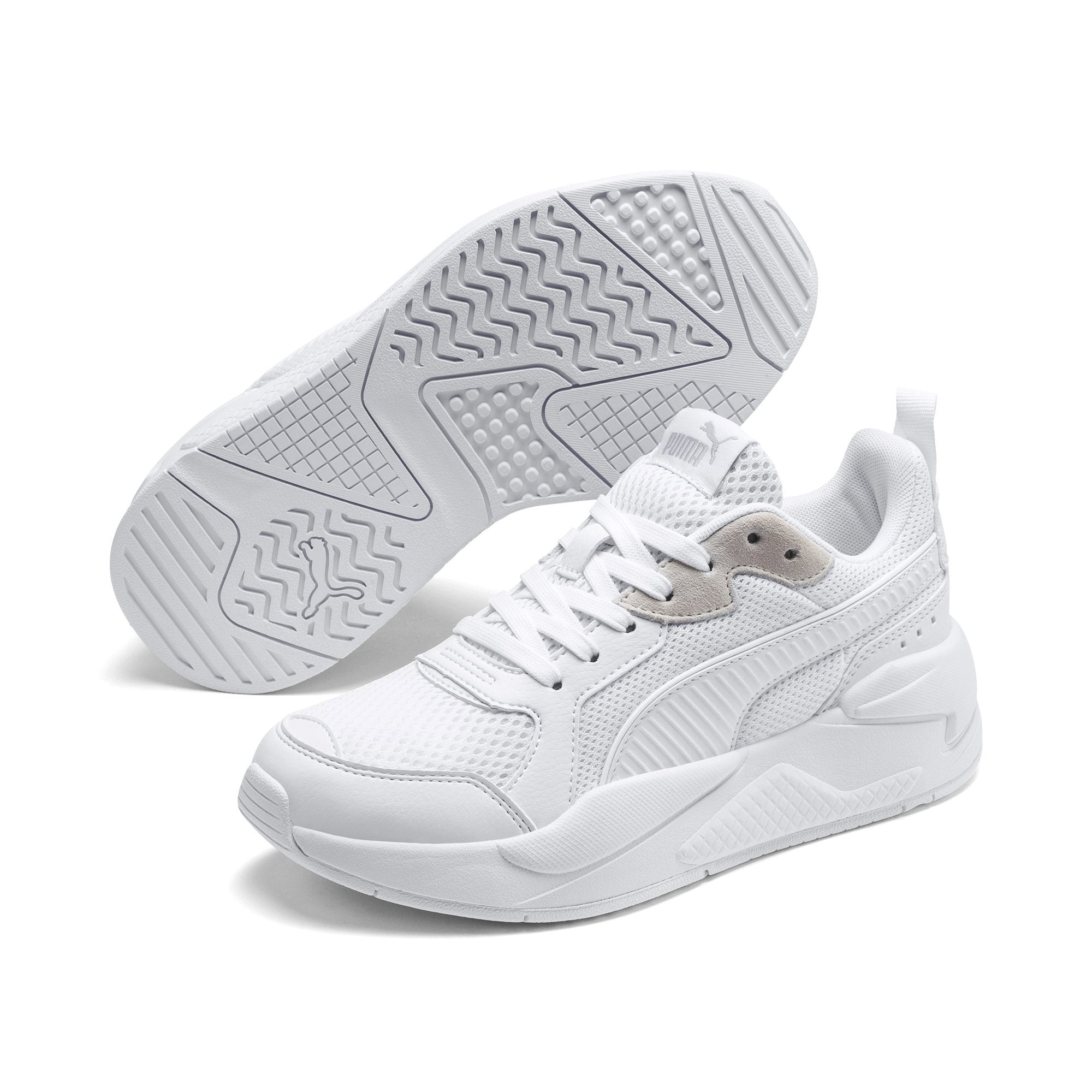 Puma X-Ray Junior - Puma White-Gray Violet SP-Footwear-Kids Puma