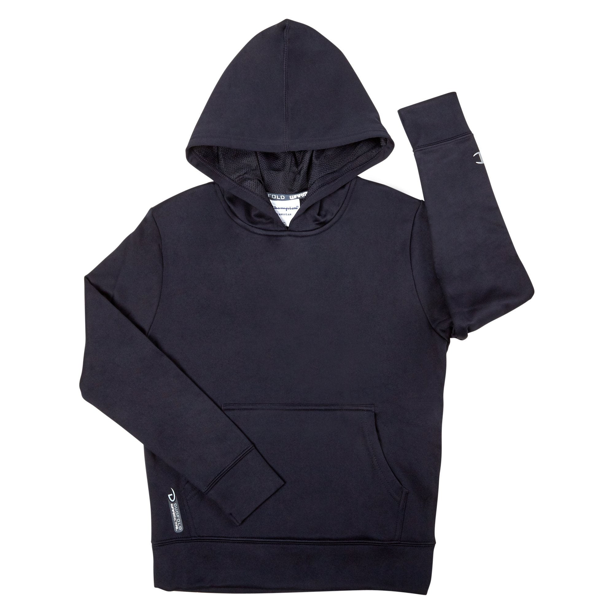 Champion Fleece Hoodie Juniors - Ink Navy Apparel Champion