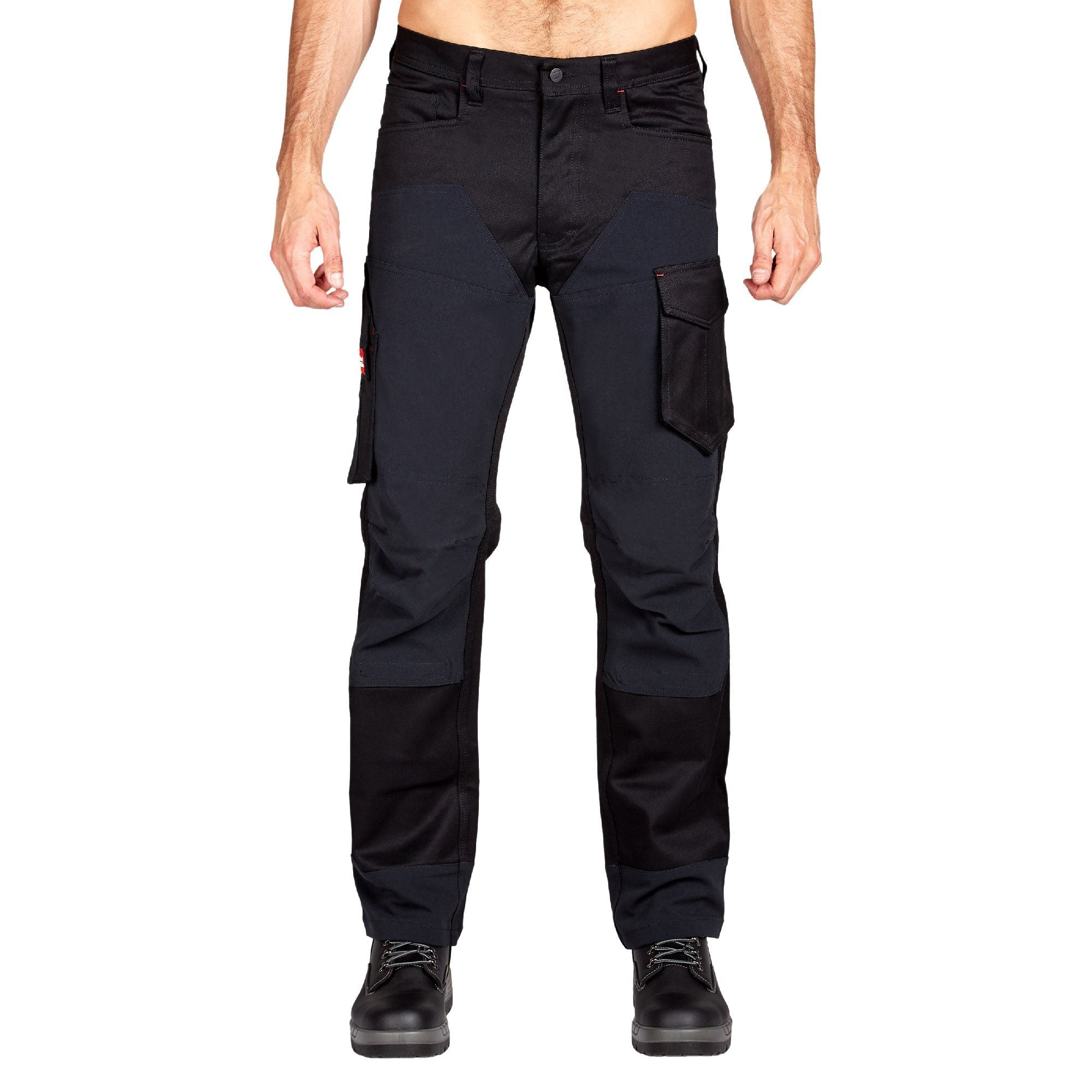 Hard Yakka Legends 3D Stretch Pants - Black/Black Workwear Isbister & Co