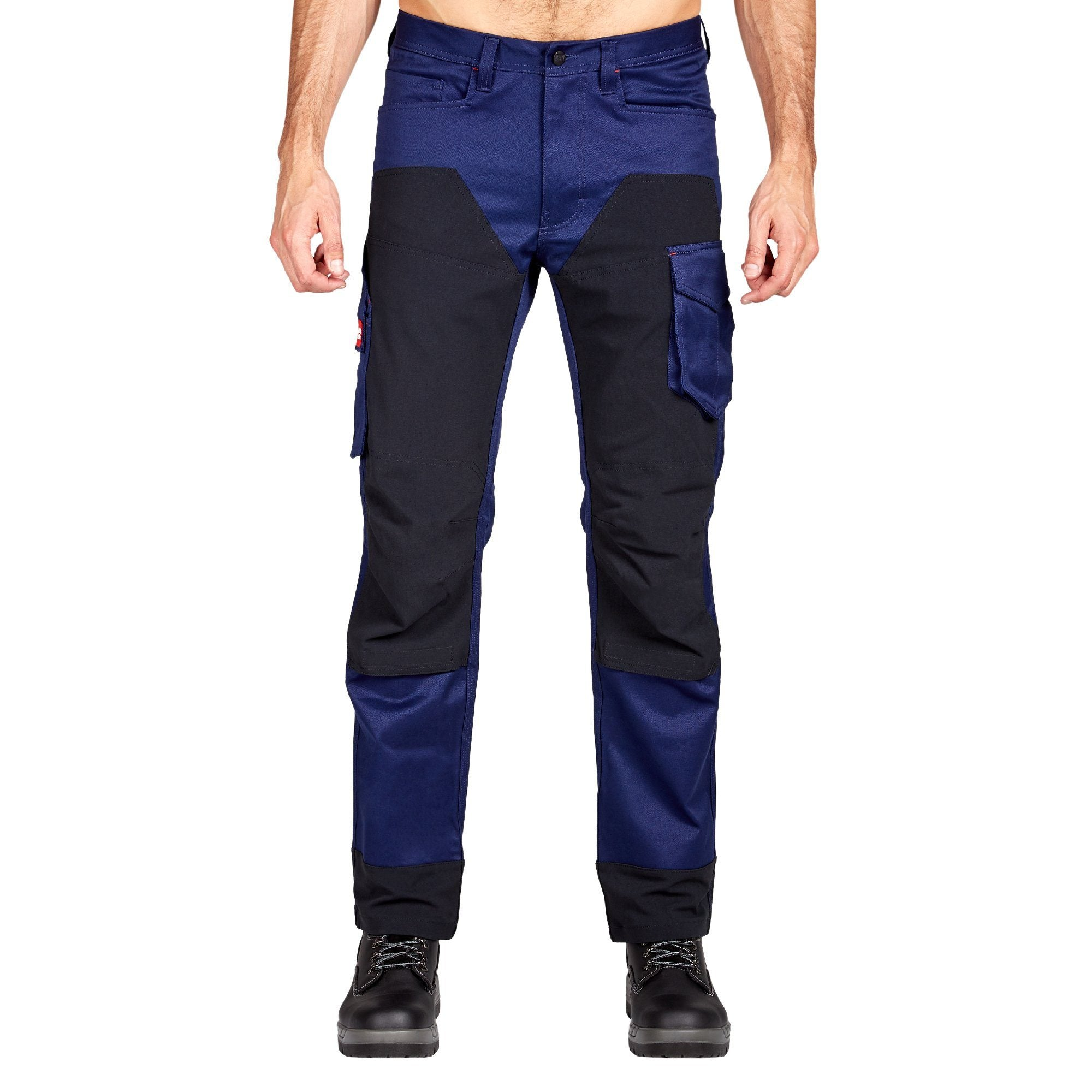 Hard Yakka Legends 3D Stretch Pants - Navy/Black Workwear Isbister & Co
