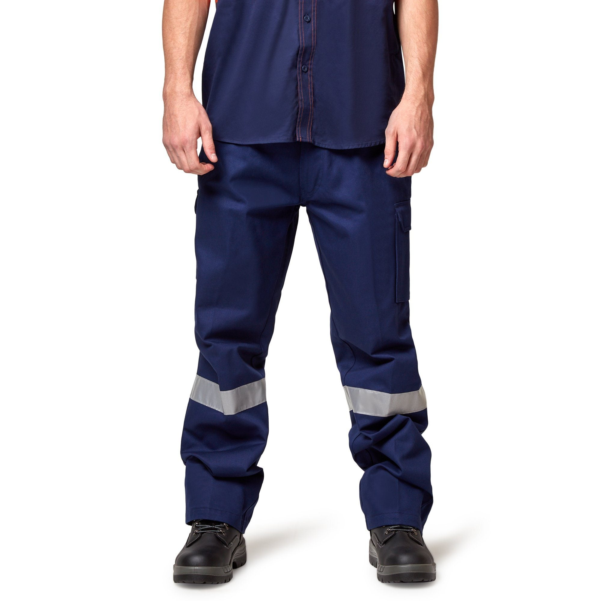Hard Yakka Generation Y Cargo Pant with Reflective Tape, Size 107R) - Workwear Hard Yakka