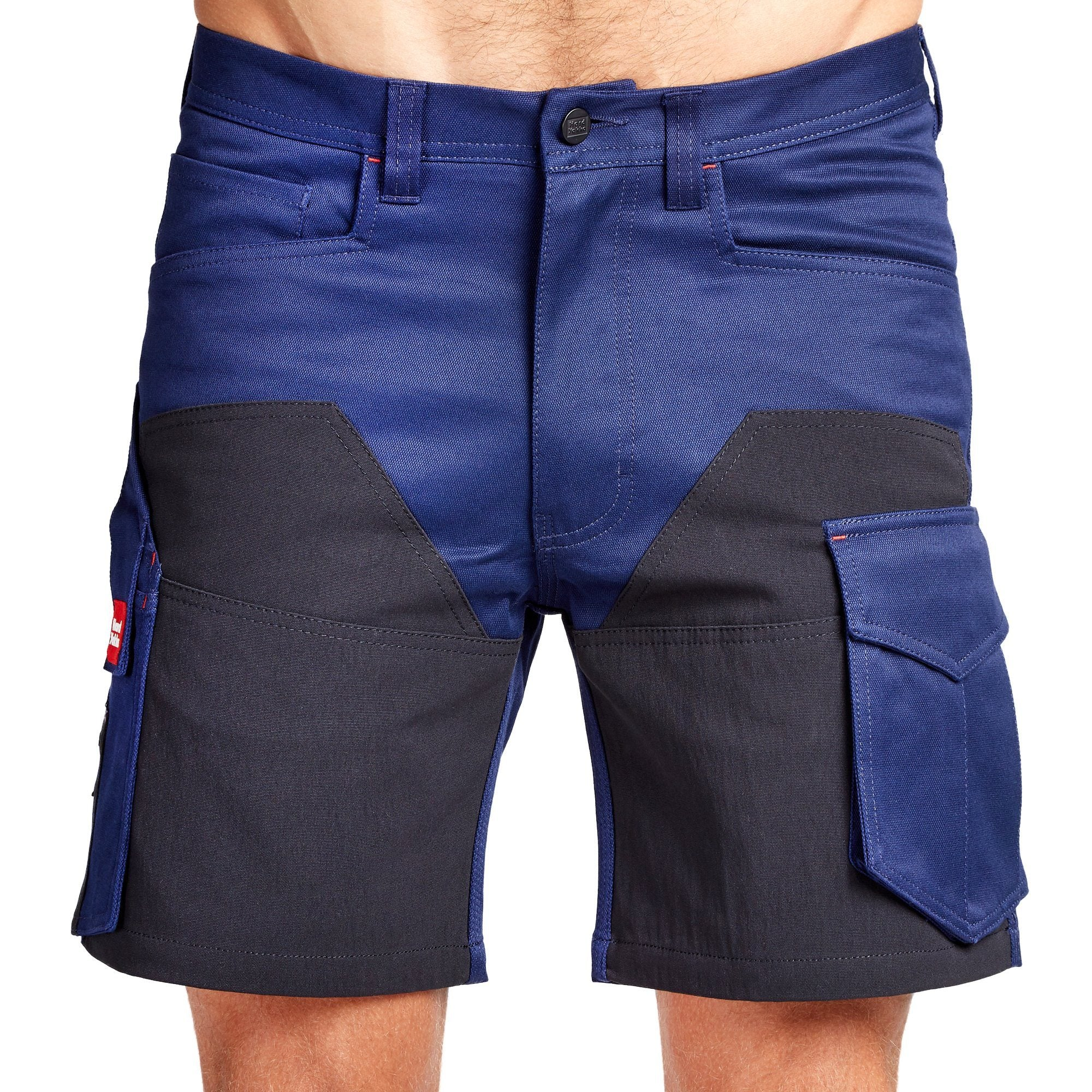 Hard Yakka Legends 3D Stretch Cargo Short - Navy/Black Workwear Hard Yakka