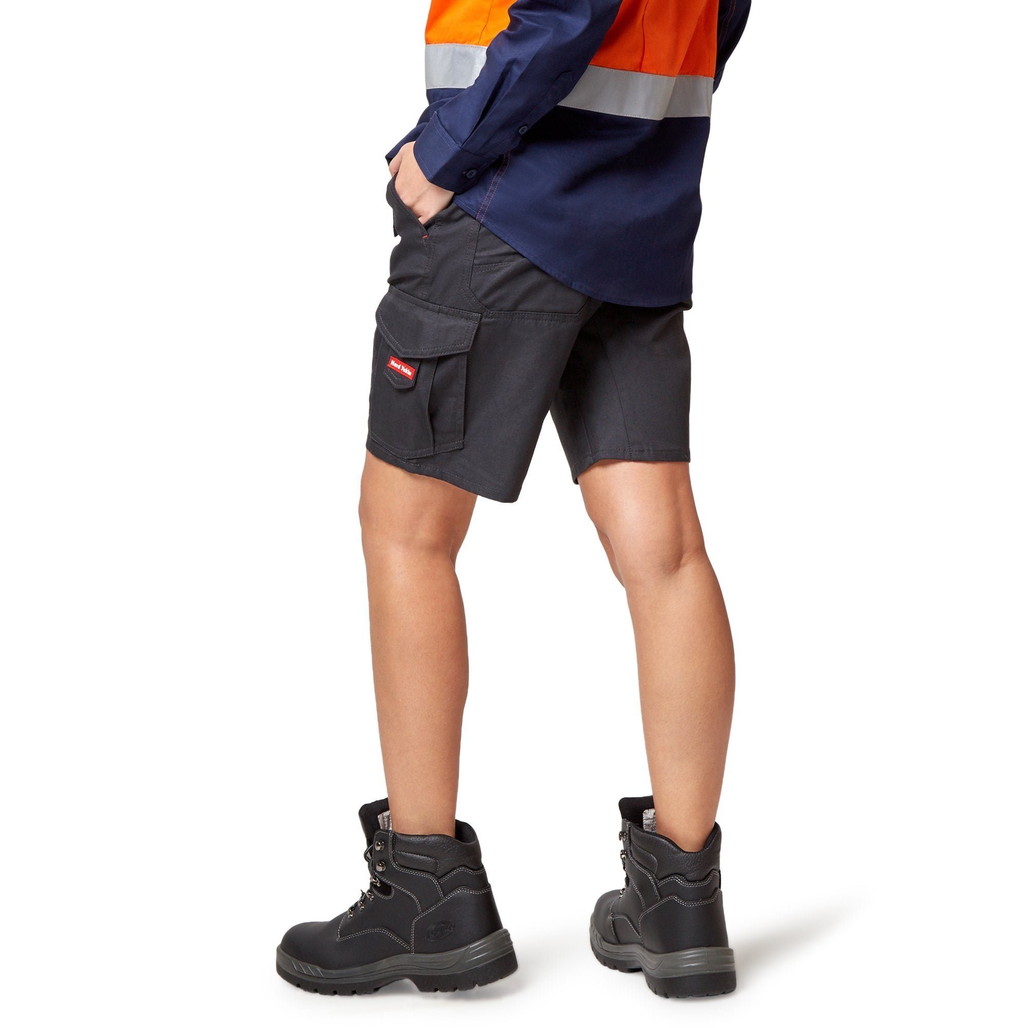 Hard Yakka Vented Cargo Shorts - Navy Workwear Hard Yakka