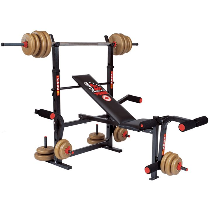 York 230 Bench SP-Exercise Equipment York Fitness
