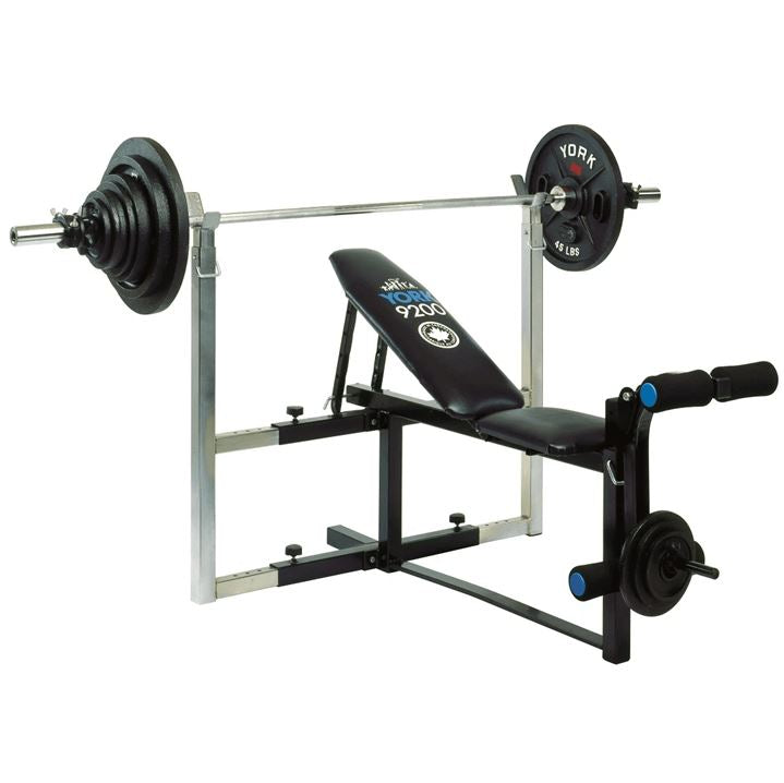 York 9200 Expandable Bench SP-Equipment-Exercise York