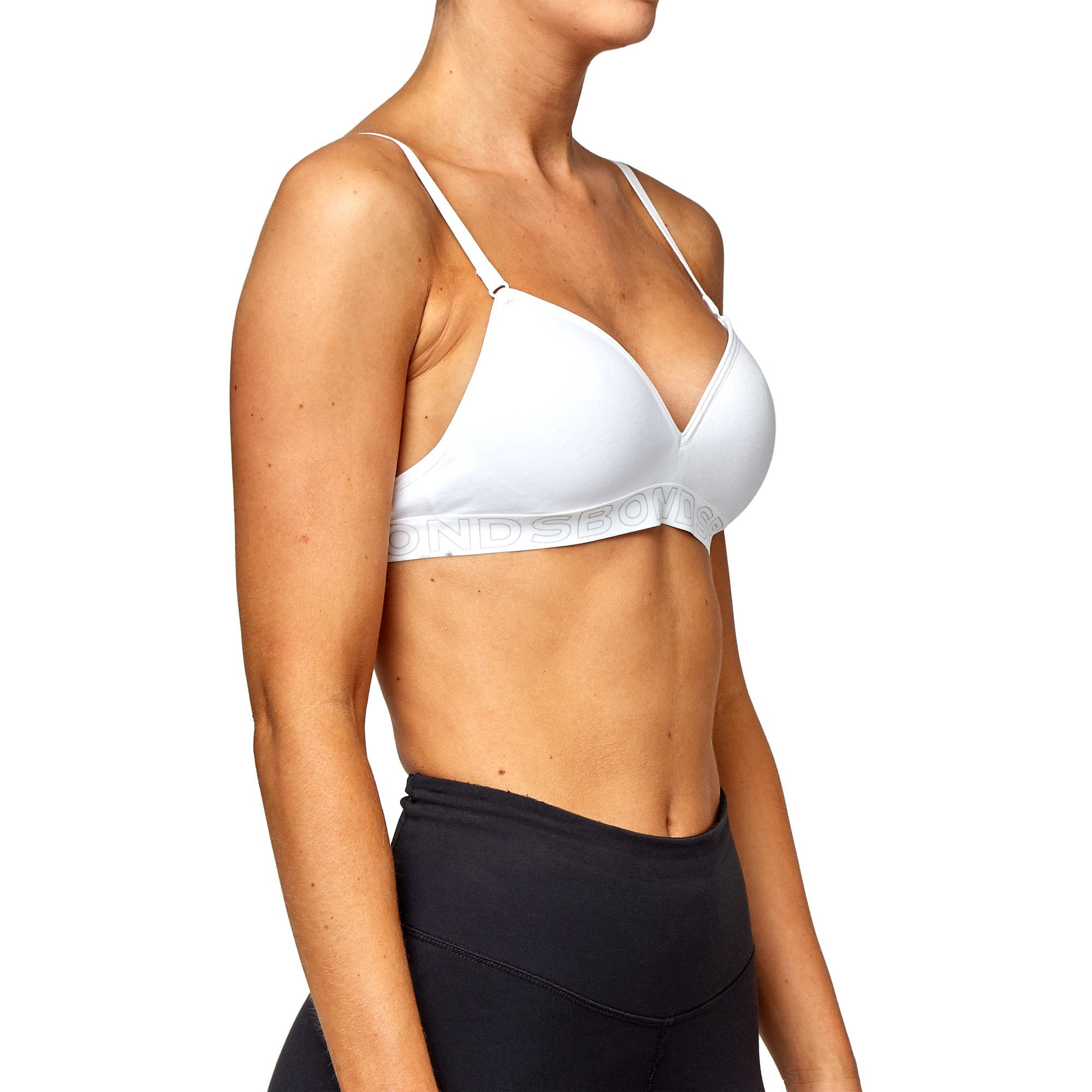 Bonds Bras Flex It - White Bras Bonds