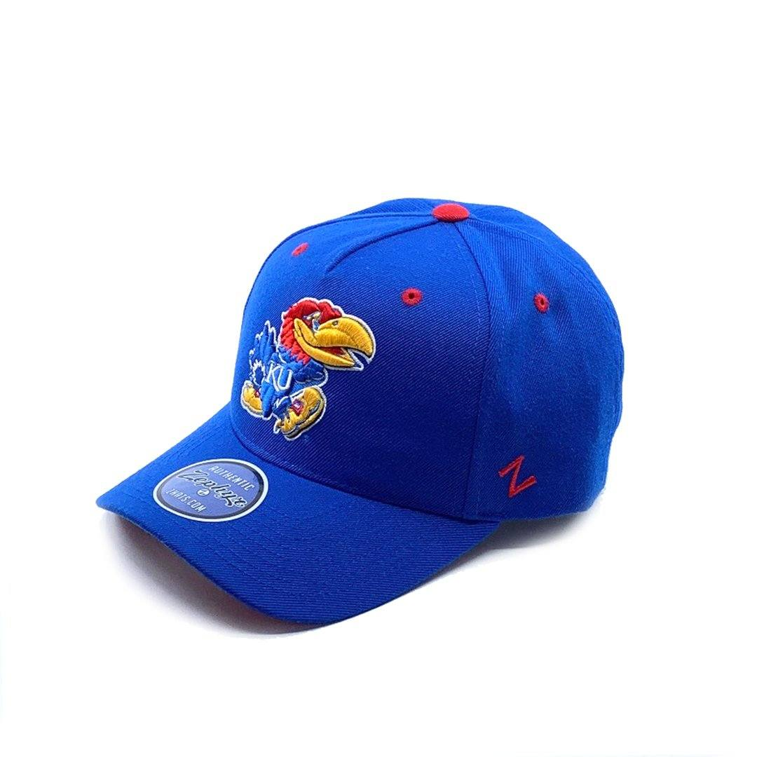 Zephyr Kansas 5 Panel Cap - Royal SP-Headwear-Caps Zephyr