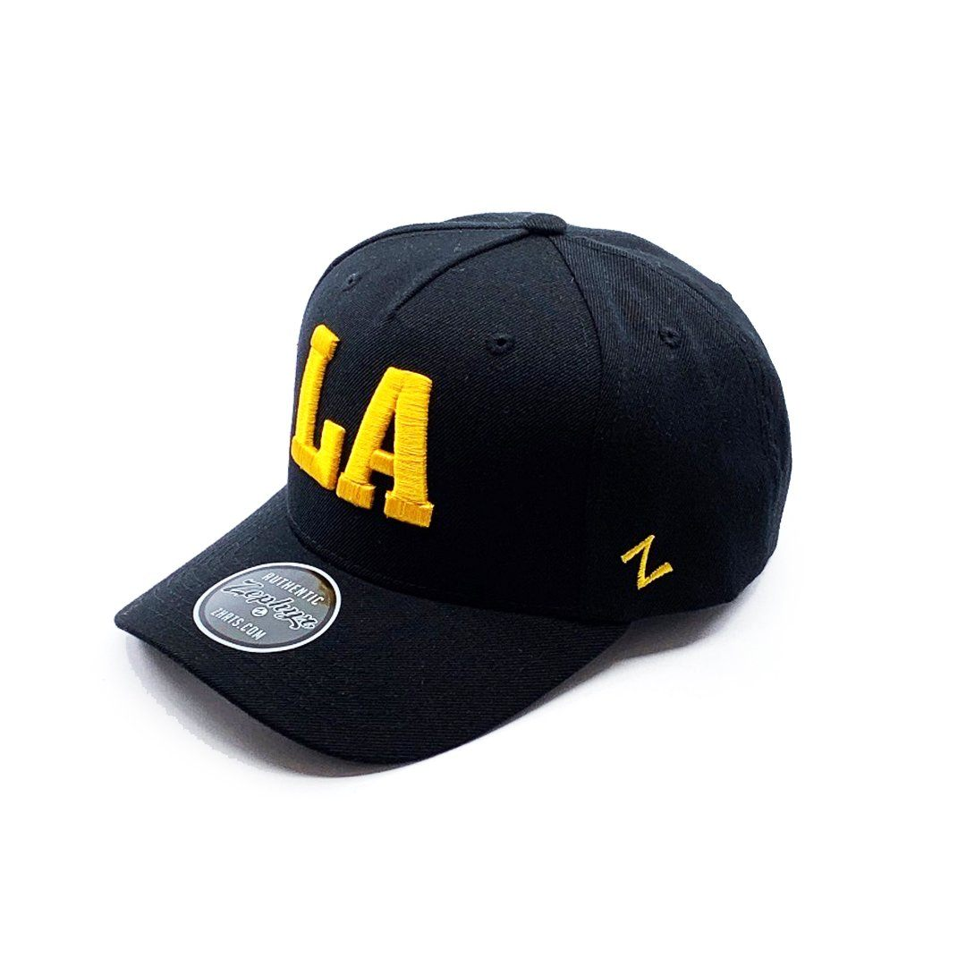 Zephyr Los Angeles 5 Panel Cap - Black SP- Headwear - Caps Zephyr