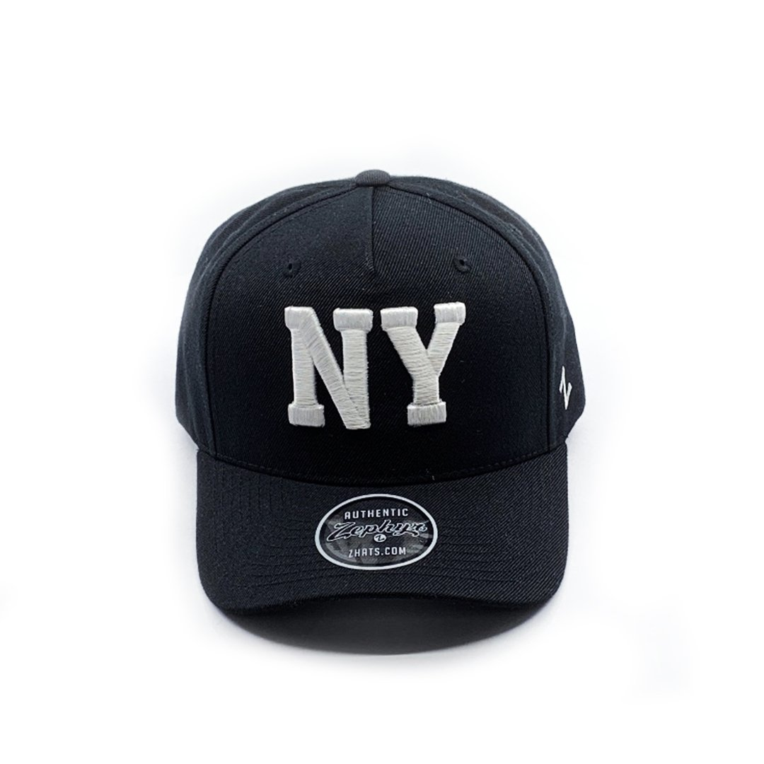 Zephyr New York 5 Panel Cap - Black SP- Headwear - Caps Zephyr