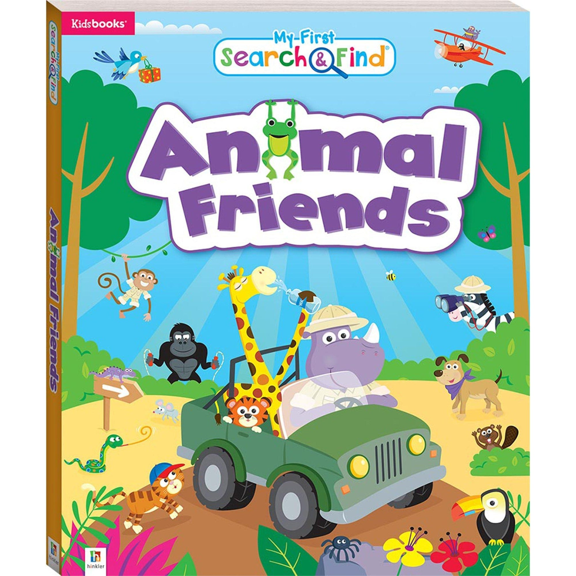 My First Search and Find: Animal Friends Books Hinkler Books