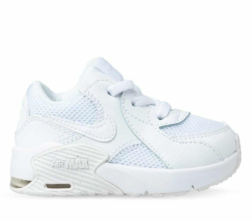 Nike Kids Air Max Excee Toddler Shoe - White/White SP-Footwear-Kids Nike