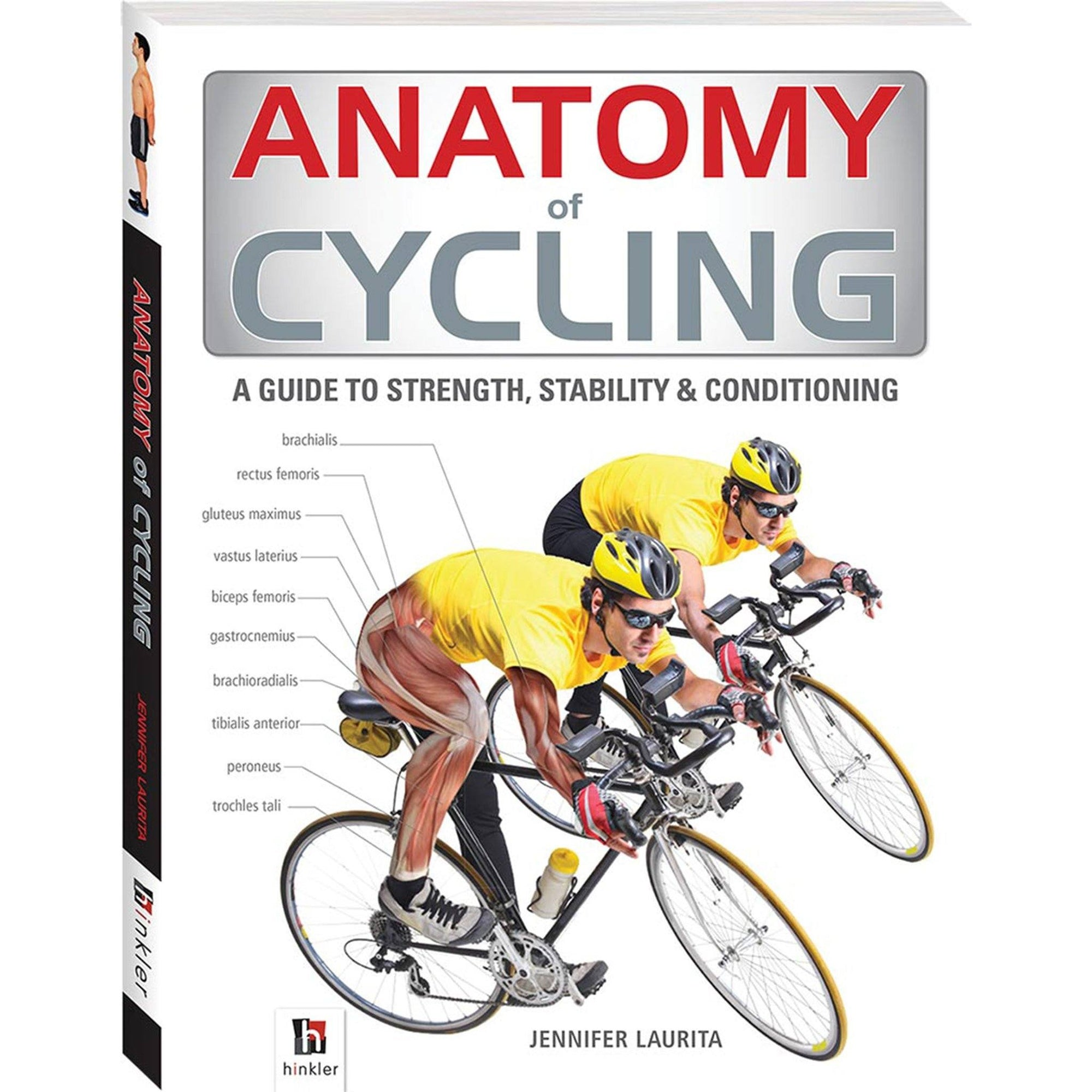 Anatomy of Cycling Book Books Hinkler Books