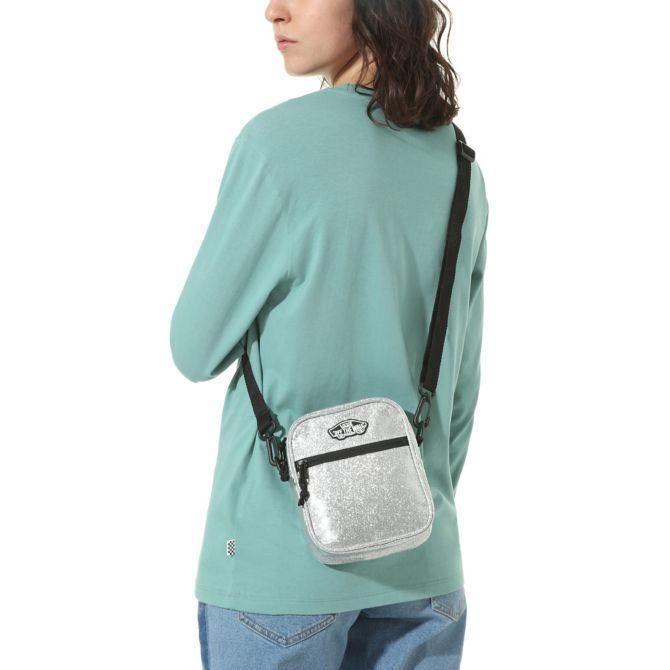 Vans Street Ready Ii Crossbody - Silver Glitter SP-Accessories-Bags Vans