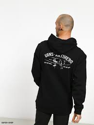 Vans Vans X Anti Hero Wired Pullover - Black SP-ApparelFleece-Mens Vans