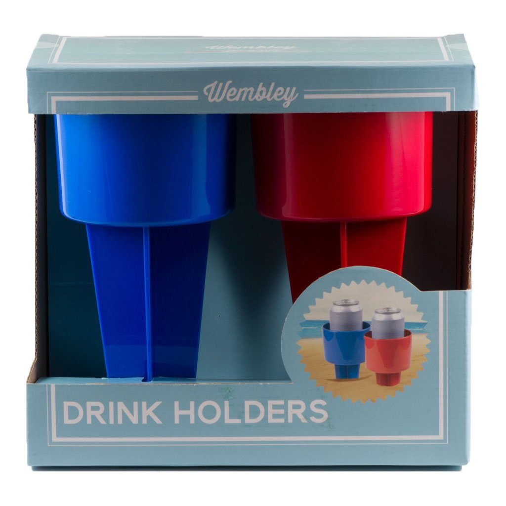 Wembley 2 Pack Beach/Sand Cup Holder Gifting Wembley