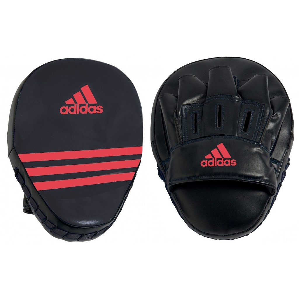 Adidas Boxing Short Focus Mitt - Black/Red Boxing SportsPower Geelong
