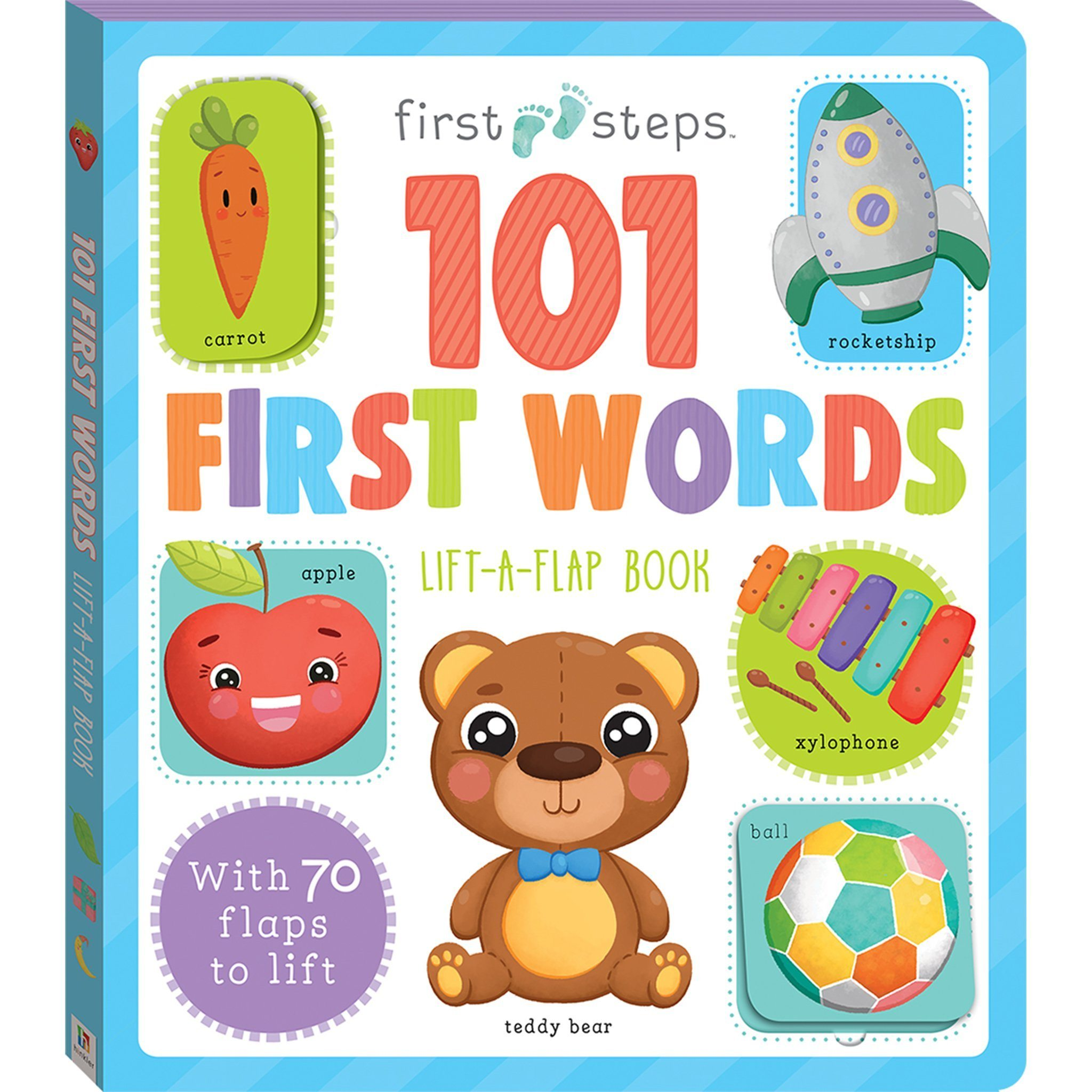First Steps Large Foam Book 101 First Words Books Hinkler Books