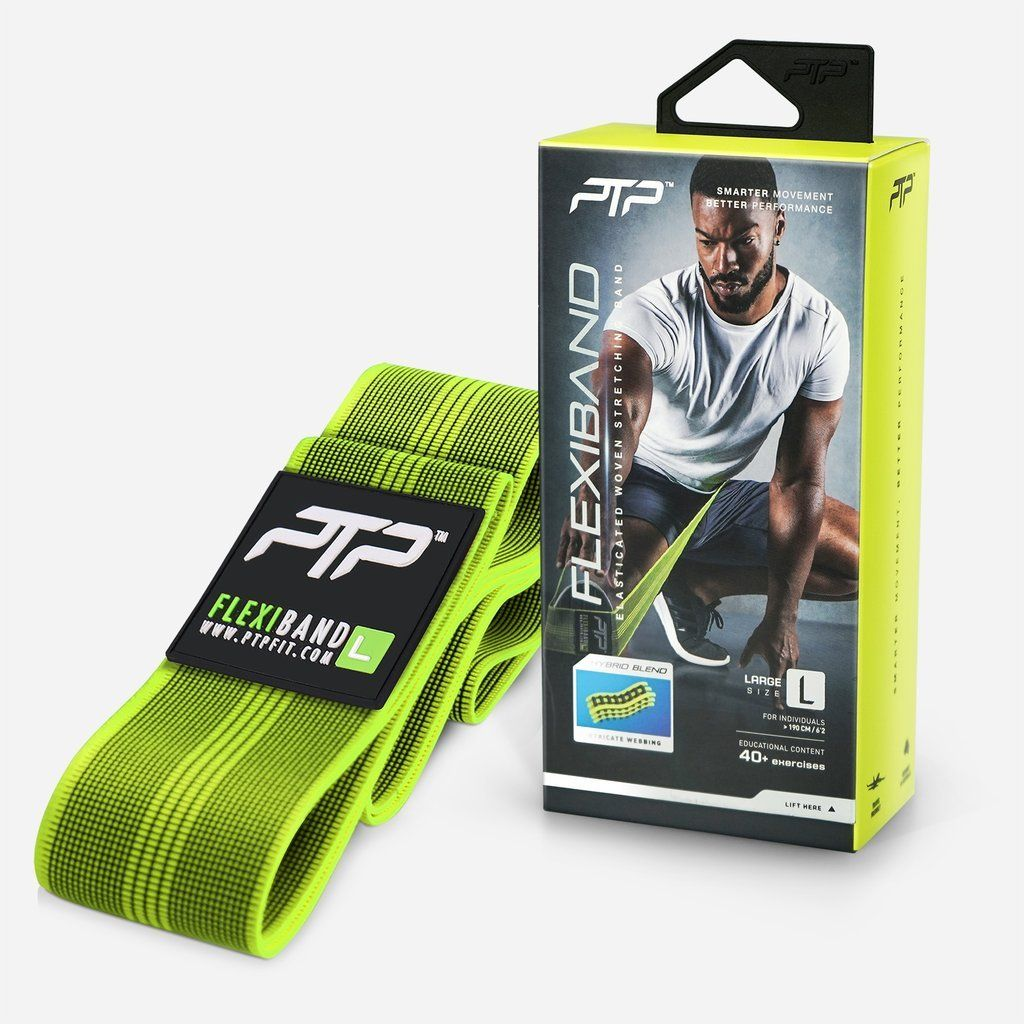 PTP FlexiBand Stretching Loop Large - Lime SP-EquipmentRecovery PTP