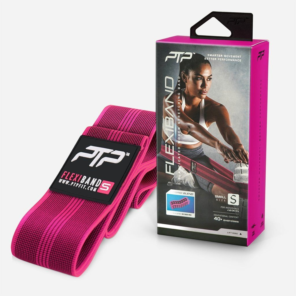 PTP FlexiBand Stretching Loop Small - Pink SP-EquipmentRecovery PTP