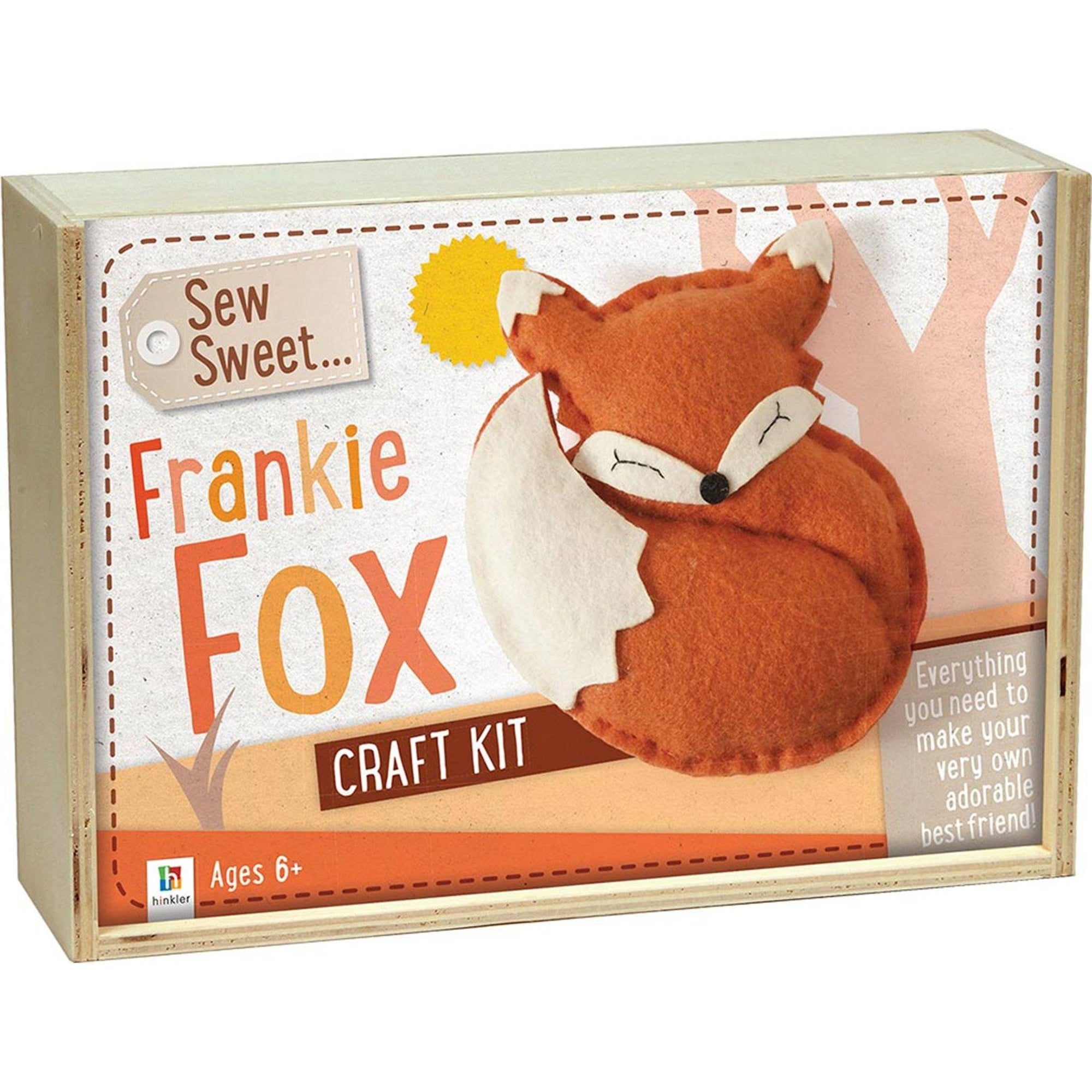 Sew Sweet: Frankie Fox Wooden Box (UK) Books Hinkler Books