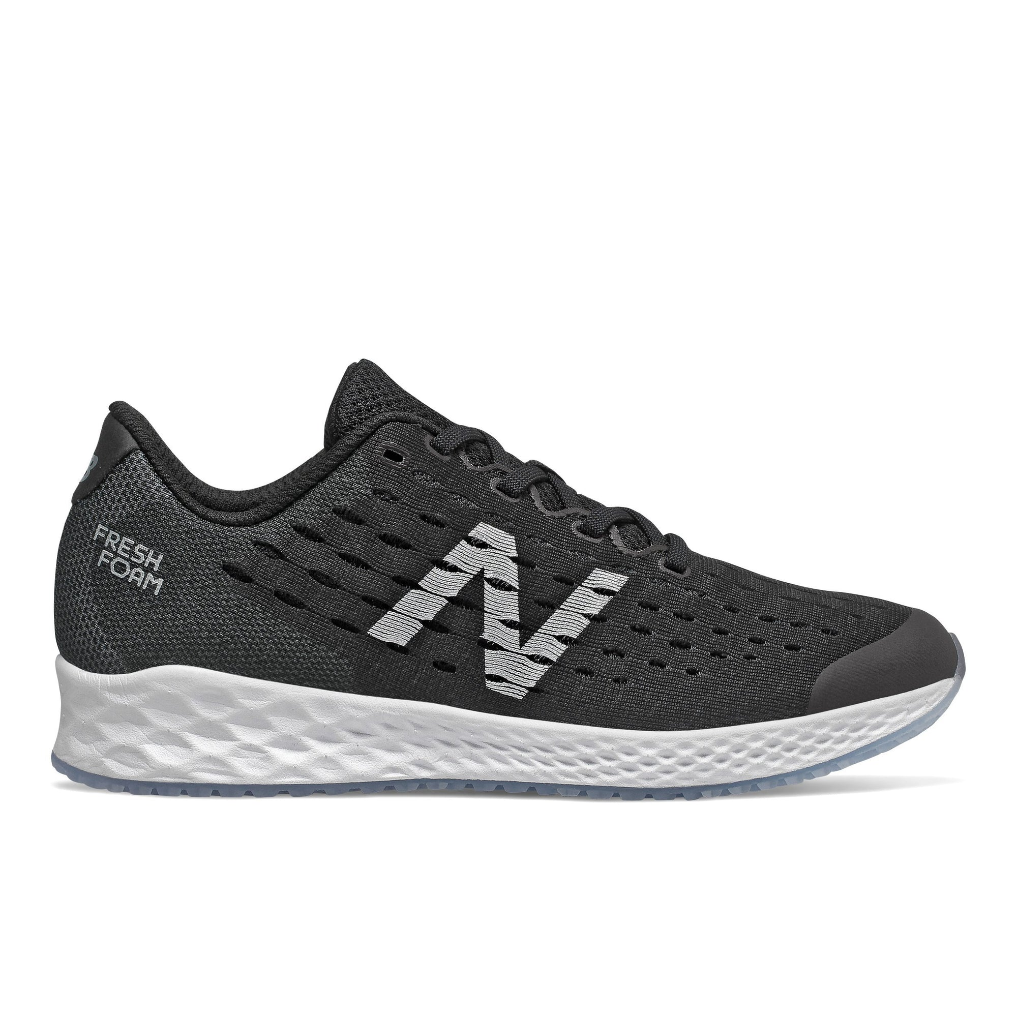 New Balance Kids Fresh Foam Zante Pursuit - Black/White SP-Footwear-Kids New Balance
