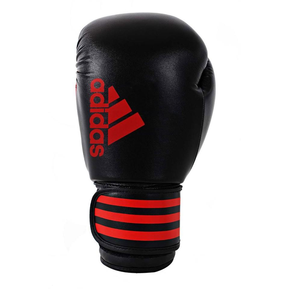 Adidas Boxing Hybrid 50 Glove - Black/Red Boxing SportsPower Geelong