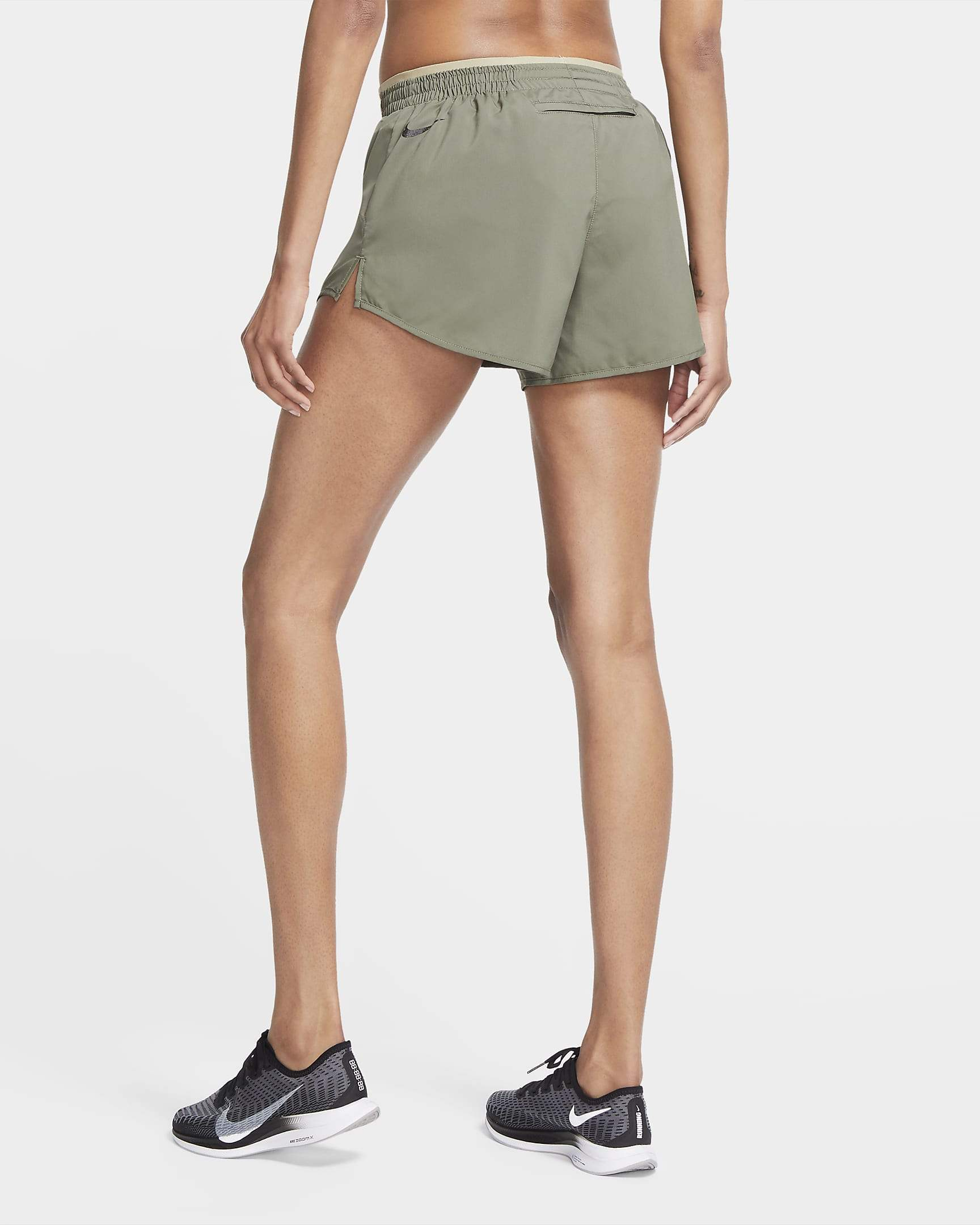 Nike Womens Icon Clash Tempo Luxe Shorts - Twilight Marsh/Mystic Stone/Black/Twilight Marsh/Mystic Stone/Black Nike