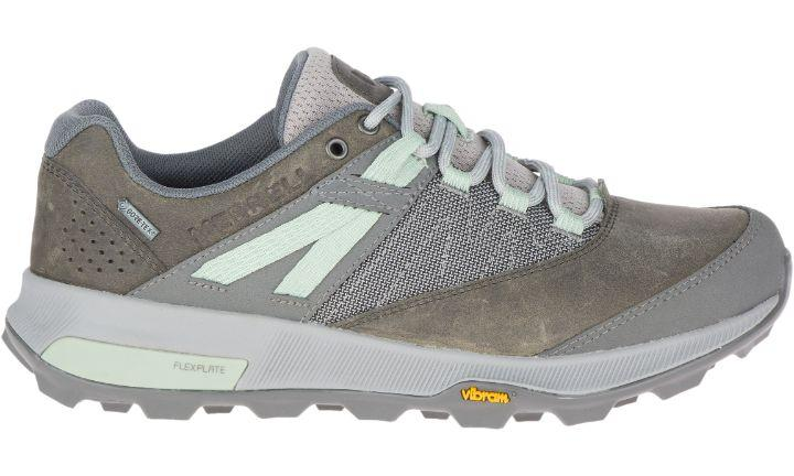 Merrell Women's Zion Gore-Tex - Merrell Grey SP-Footwear-Womens Merrell