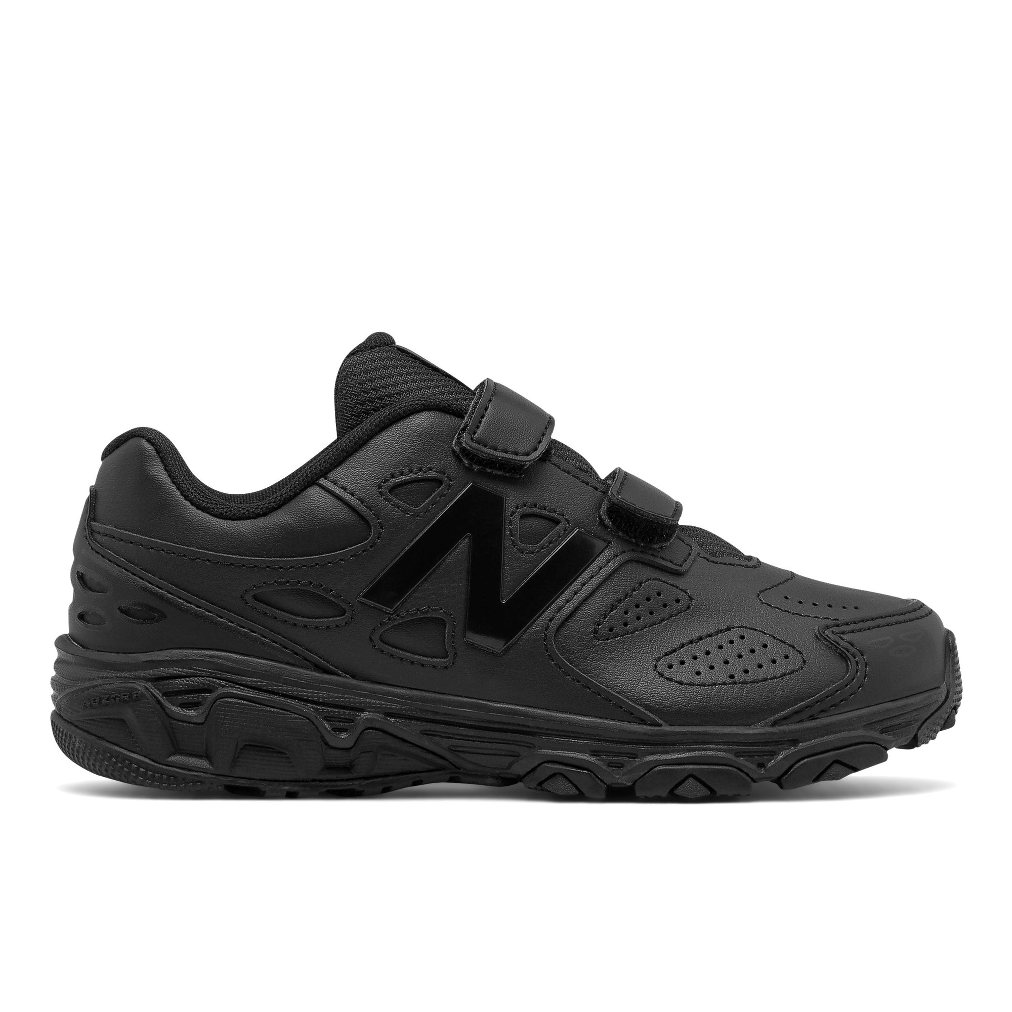 New Balance Kids 680v6 - Black SP-Footwear-Kids New Balance