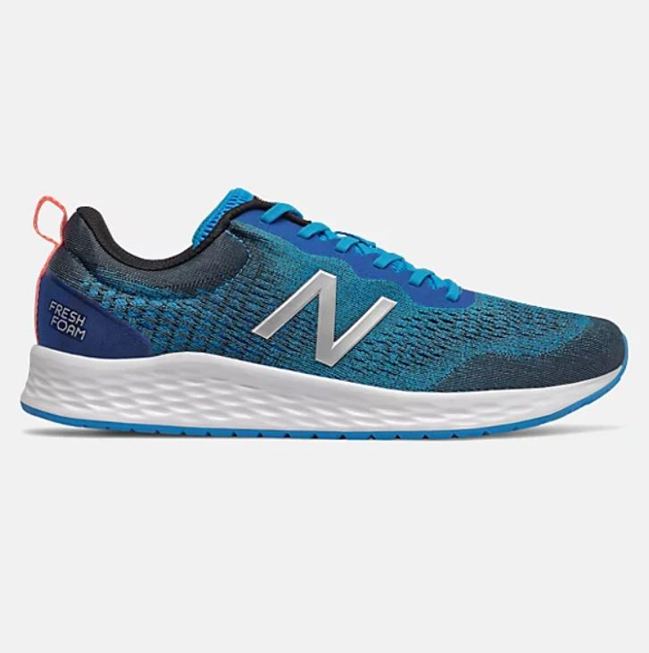 New Balance Mens Fresh Foam Arishi v3 - Vision Blue with Black & Silver Metallic SP-Footwear-Mens New Balance