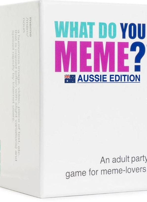 What Do You Meme? Aussie Edition Party Games VRDistribution