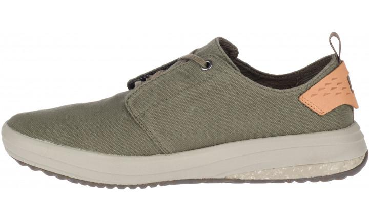 Merrell Gridway Canvas Men's - Olive SP-Footwear-Mens Merrell