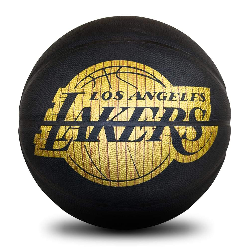 Spalding NBA Hardwood Series - Los Angeles Lakers - Size 7 SP-Balls Spalding